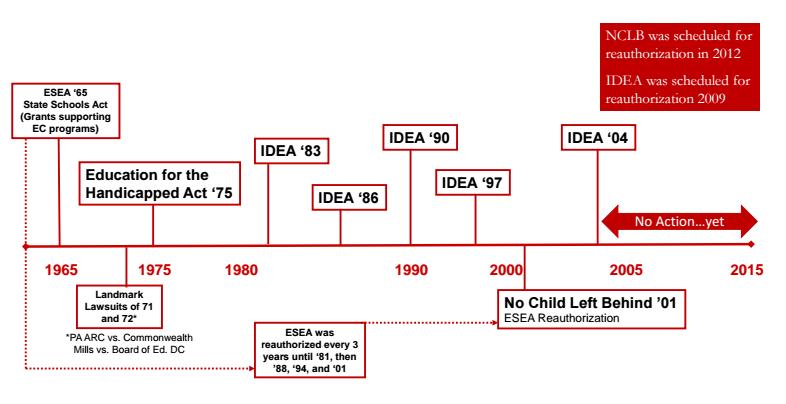 IDEA Timeline
