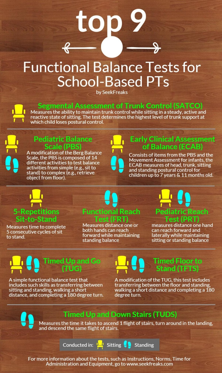 Top 9 Functional Balance Tests for School-Based PTs   SeekFreaks