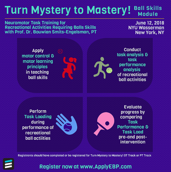 Turn Mystery to Mastery! Neuromotor Task Training for