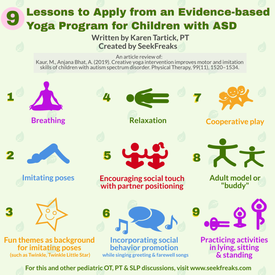 Article Review 9 Lessons To Apply From An Evidence Based Yoga Program For Children With Autism Spectrum Disorder Seekfreaks